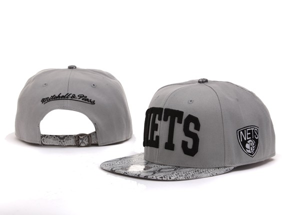 Brooklyn Nets NBA Snapback Hat Sf